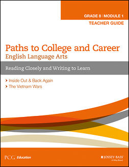- English Language Arts, Grade 8 Module 1: Reading Closely and Writing to Learn, Teacher Guide, ebook