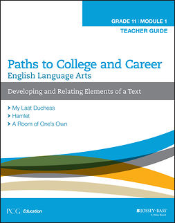 - English Language Arts, Grade 11 Module 1: Developing and Relating Elements of a Text, Teacher Guide, ebook