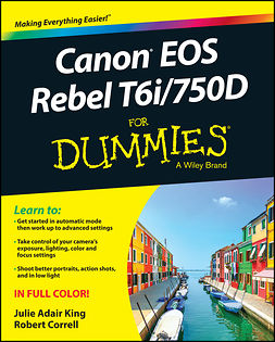 Correll, Robert - Canon EOS Rebel T6i / 750D For Dummies, ebook