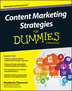 Clifford, Paul - Content Marketing Strategies For Dummies, e-kirja