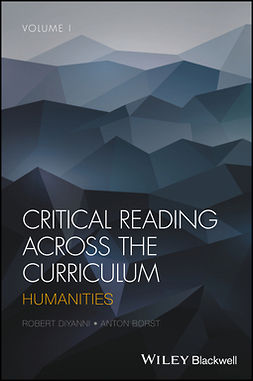 Borst, Anton - Critical Reading Across the Curriculum: Humanities, ebook