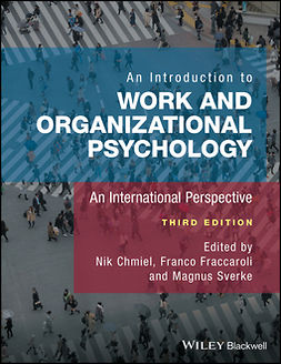 Chmiel, Nik - An Introduction to Work and Organizational Psychology: An International Perspective, e-bok