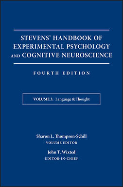 Thompson-Schill, Sharon - Stevens' Handbook of Experimental Psychology and Cognitive Neuroscience, Language and Thought: Developmental and Social Psychology, e-bok