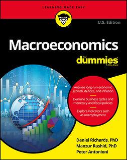 Antonioni, Peter - Macroeconomics For Dummies, ebook