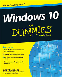 Rathbone, Andy - Windows 10 For Dummies, e-kirja