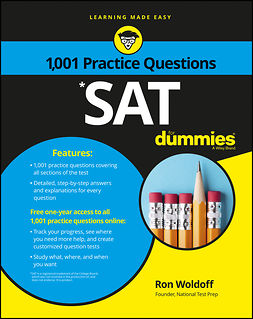 Woldoff, Ron - 1,001 SAT Practice Questions For Dummies, ebook
