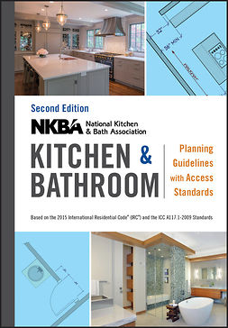 - NKBA Kitchen and Bathroom Planning Guidelines with Access Standards, ebook