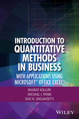 Kolluri, Bharat - Introduction to Quantitative Methods in Business: With Applications Using Microsoft Office Excel, ebook
