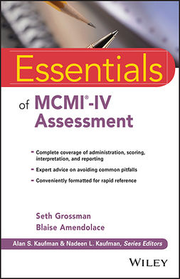 Amendolace, Blaise - Essentials of MCMI-IV Assessment, ebook