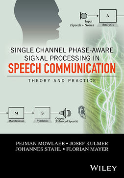 Kulmer, Josef - Single Channel Phase-Aware Signal Processing in Speech Communication: Theory and Practice, ebook