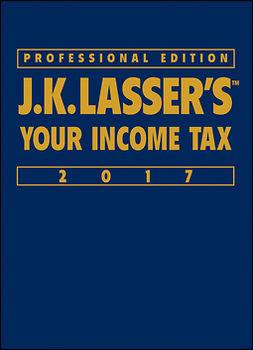 - J.K. Lasser's Your Income Tax Professional Edition 2017, ebook