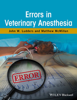 Ludders, John W. - Errors in Veterinary Anesthesia, ebook