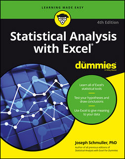 Schmuller, Joseph - Statistical Analysis with Excel For Dummies, e-kirja
