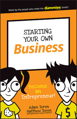 Toren, Adam - Starting Your Own Business: Become an Entrepreneur!, e-kirja