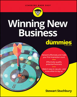 Stuchbury, Stewart - Winning New Business For Dummies, ebook