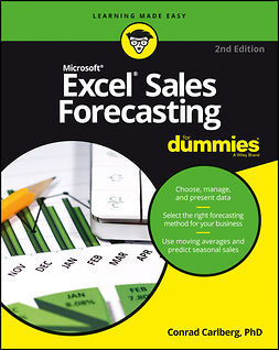 Carlberg, Conrad - Excel Sales Forecasting For Dummies, ebook