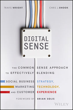Snook, Chris J. - Digital Sense: The Common Sense Approach to Effectively Blending Social Business Strategy, Marketing Technology, and Customer Experience, e-bok