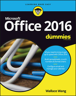 Wang, Wallace - Office 2016 For Dummies, ebook