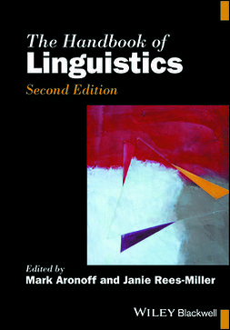 Aronoff, Mark - The Handbook of Linguistics, ebook