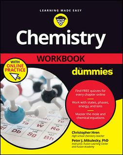 Hren, Chris - Chemistry Workbook For Dummies, e-kirja