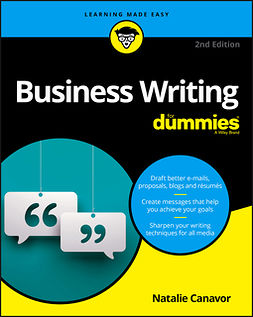 Canavor, Natalie - Business Writing For Dummies, ebook