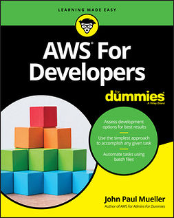 Mueller, John Paul - AWS For Developers For Dummies, e-kirja