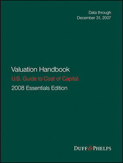 Grabowski, Roger J. - Valuation Handbook: Guide to Cost of Capital 2008, ebook
