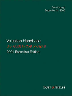 Grabowski, Roger J. - Valuation Handbook: U.S. Guide to Cost of Capital 2001, ebook