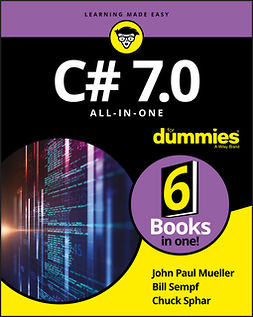 Mueller, John Paul - C# 7.0 All-in-One For Dummies, ebook