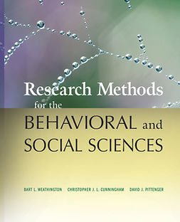 Cunningham, Christopher J. L. - Research Methods for the Behavioral and Social Sciences, ebook