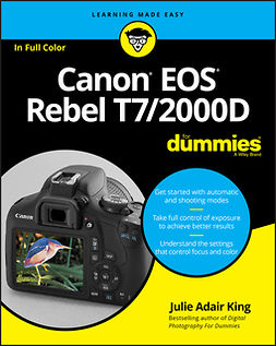 King, Julie Adair - Canon EOS Rebel T7/2000D For Dummies, ebook