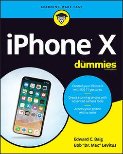 Baig, Edward C. - iPhone X For Dummies, ebook