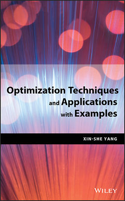 Yang, Xin-She - Optimization Techniques and Applications with Examples, ebook