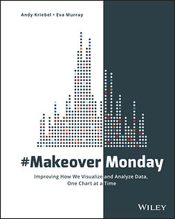 Kriebel, Andy - #MakeoverMonday: Improving How We Visualize and Analyze Data, One Chart at a Time, e-kirja