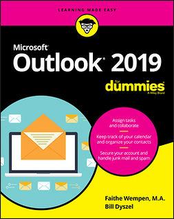 Dyszel, Bill - Outlook 2019 For Dummies, e-kirja