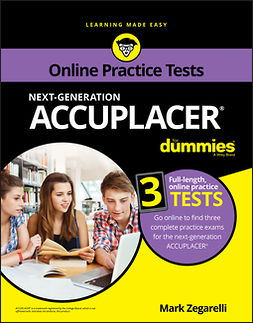 Zegarelli, Mark - ACCUPLACER For Dummies with Online Practice Tests, ebook