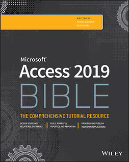 Alexander, Michael - Access 2019 Bible, e-bok