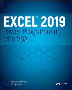 Alexander, Michael - Excel 2019 Power Programming with VBA, ebook