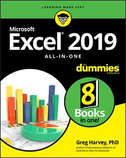 Harvey, Greg - Excel 2019 All-in-One For Dummies, e-bok