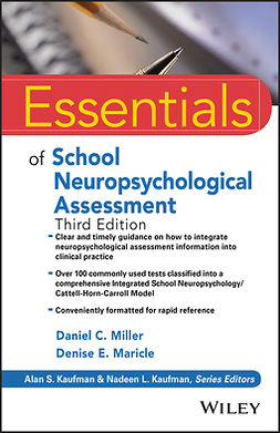 Kaufman, Alan S. - Essentials of School Neuropsychological Assessment, e-kirja