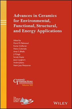 Bhalla, Amar S. - Advances in Ceramics for Environmental, Functional, Structural, and Energy Applications, ebook
