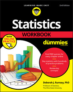 Rumsey, Deborah J. - Statistics Workbook For Dummies with Online Practice, e-kirja