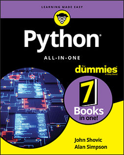 Shovic, John - Python All-in-One For Dummies, ebook