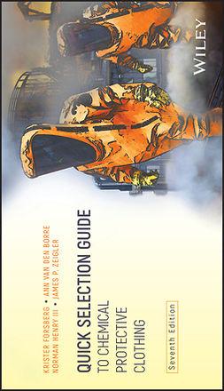 Borre, Ann Van den - Quick Selection Guide to Chemical Protective Clothing, e-bok
