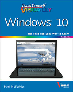 McFedries, Paul - Teach Yourself VISUALLY Windows 10, ebook