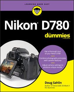 Sahlin, Doug - Nikon D780 For Dummies, ebook