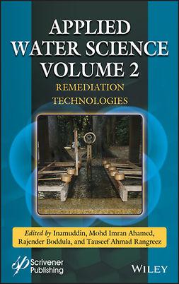 Ahamed, Mohd Imran - Applied Water Science, Volume 2: Remediation Technologies, e-kirja