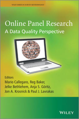 Callegaro, Mario - Online Panel Research: A Data Quality Perspective, ebook
