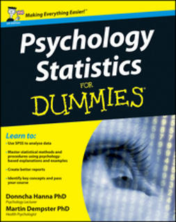 Hanna, Donncha - Psychology Statistics For Dummies, e-bok