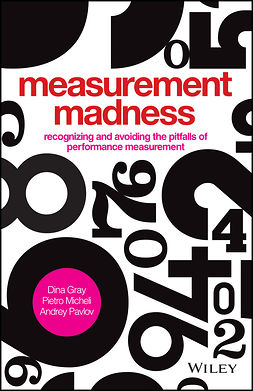 Gray, Dina - Measurement Madness: Recognizing and Avoiding the Pitfalls of Performance Measurement, ebook